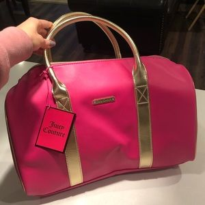 💼 [Juicy Couture] Pink duffle bag